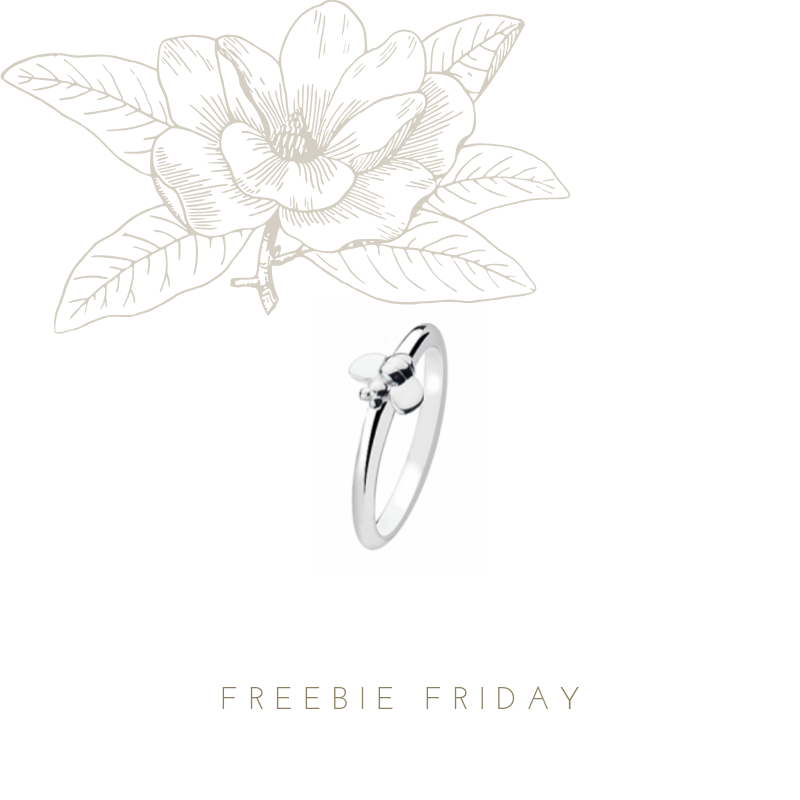 It's #FreebieFriday again!! Be in with a chance to win this cute little guy - our sterling silver Bumble ring just RT&F #win #competition<br>http://pic.twitter.com/i4yiEx4hk3