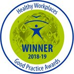 Image for the Tweet beginning: 2018-19 #EUhealthyworkplaces Good Practice Awards