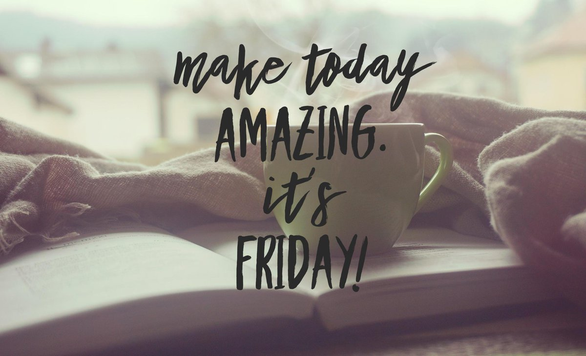 Good morning Twitter friends! Drink coffee, smile and be awesome. #FridayFeeling #FelizViernes  <br>http://pic.twitter.com/GLZHsukbfd