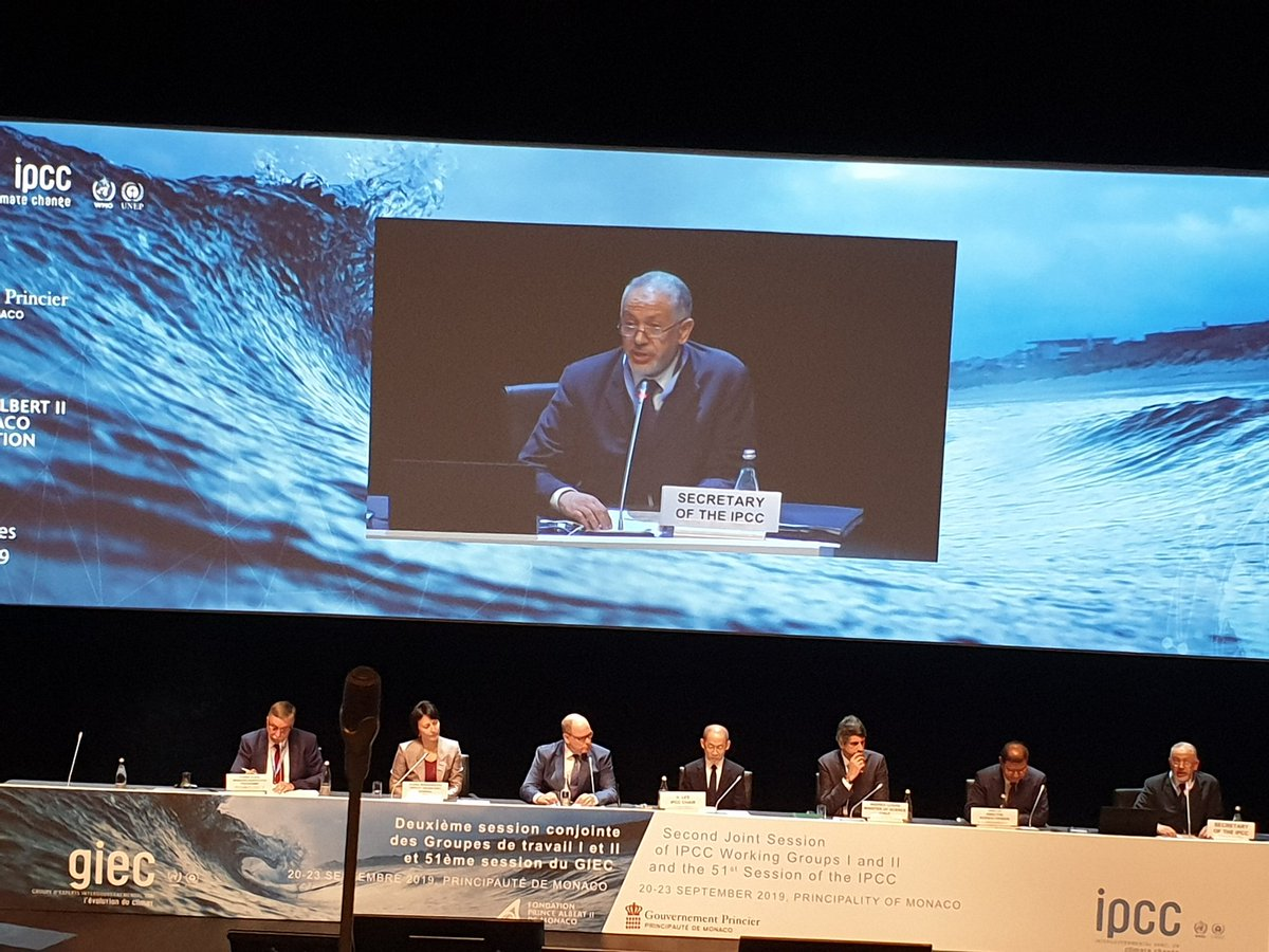 The 51st Session of the Intergovermental Panel of Experts on Climate Change #IPCC begins in Monaco this morning. Watch out for the launch of the Special Report on the #ocean & the #cryosphere on 25 September here. #BeforetheblueCOP #COP25 #Ocean4climate<br>http://pic.twitter.com/Uy6uu5cN9T