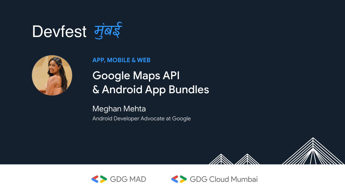 Straight from the Valley, we have the voice of #IO19 @adressyengineer as she dives deep into the world of the new teal droid 🤖 to explain about the Maps API and App Bundles!#devfest #gdgmad