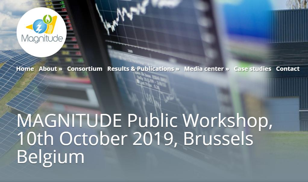 Interesting #workshop of #EUenergy project MAGNITUDE. Check it our if you're interested!