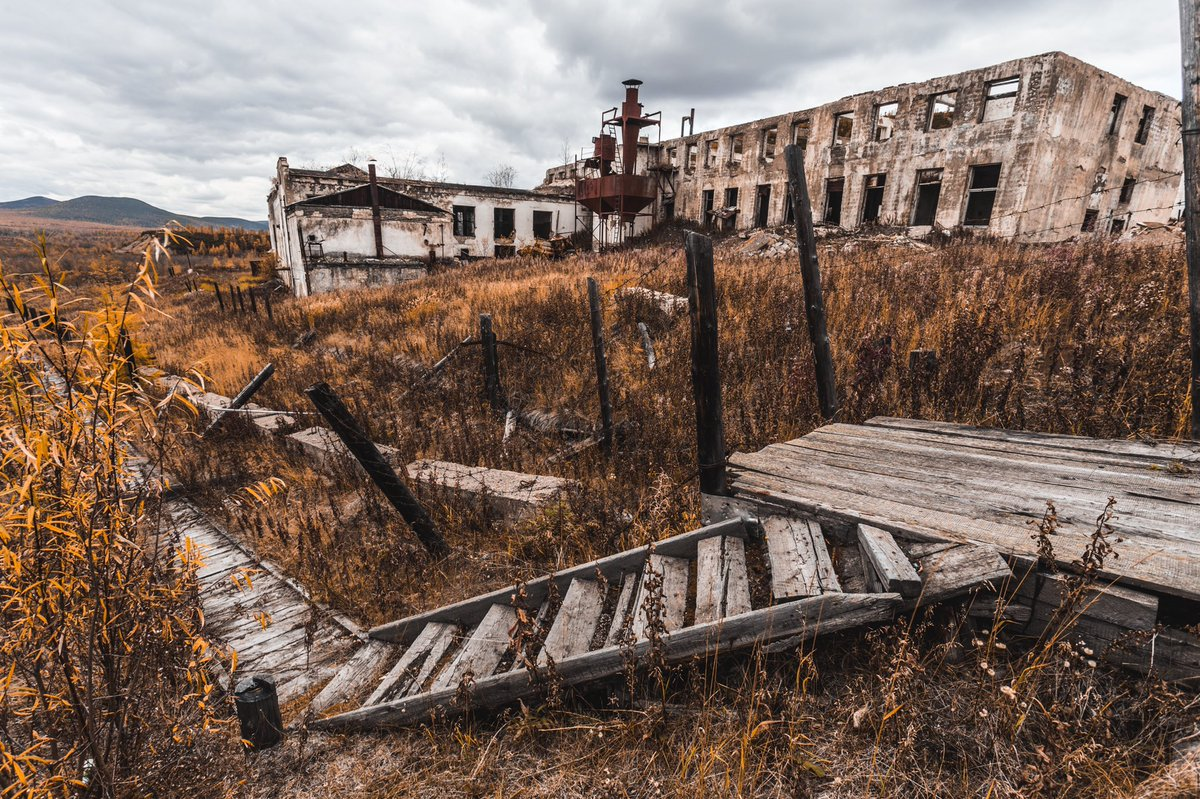 этому времени фото заброшенных мест в сибири очень