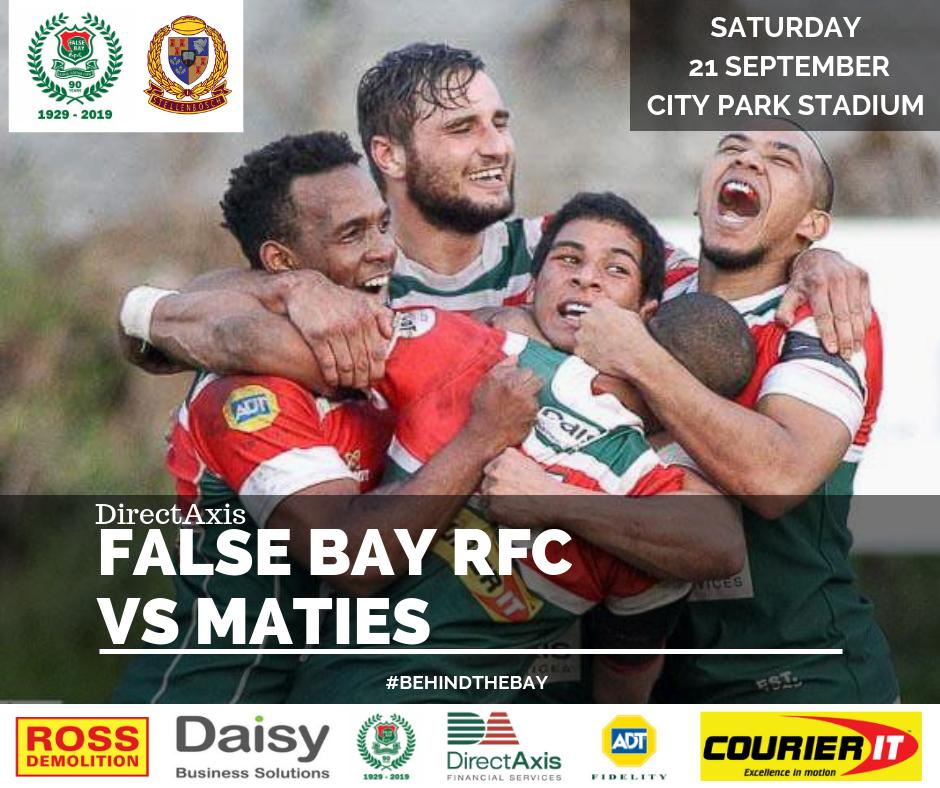 🗣 WP SLA SEMI-FINAL SHOWDOWN.... Tomorrow we travel down the road to City Park to take on our friends from @maties_rugby which promises to be a CRACKING DAY of RUGBY 🏉 📍 City Park Stadium ⏰16:45 KICK-OFF ❗ MAKE THE TRIP 😍 SEE YOU THERE! #WpclubRugby #LoveRugby