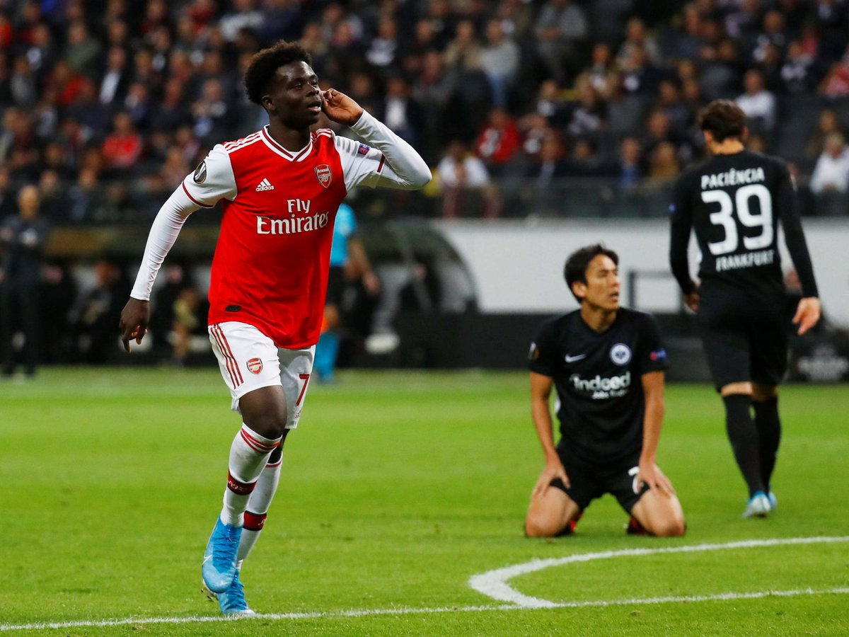 It's A Dream Come True To Score For Arsenal - Bukayo Saka -  http:// tinyurl.com/y5o52pzm     <br>http://pic.twitter.com/Yk6RF6jzVe
