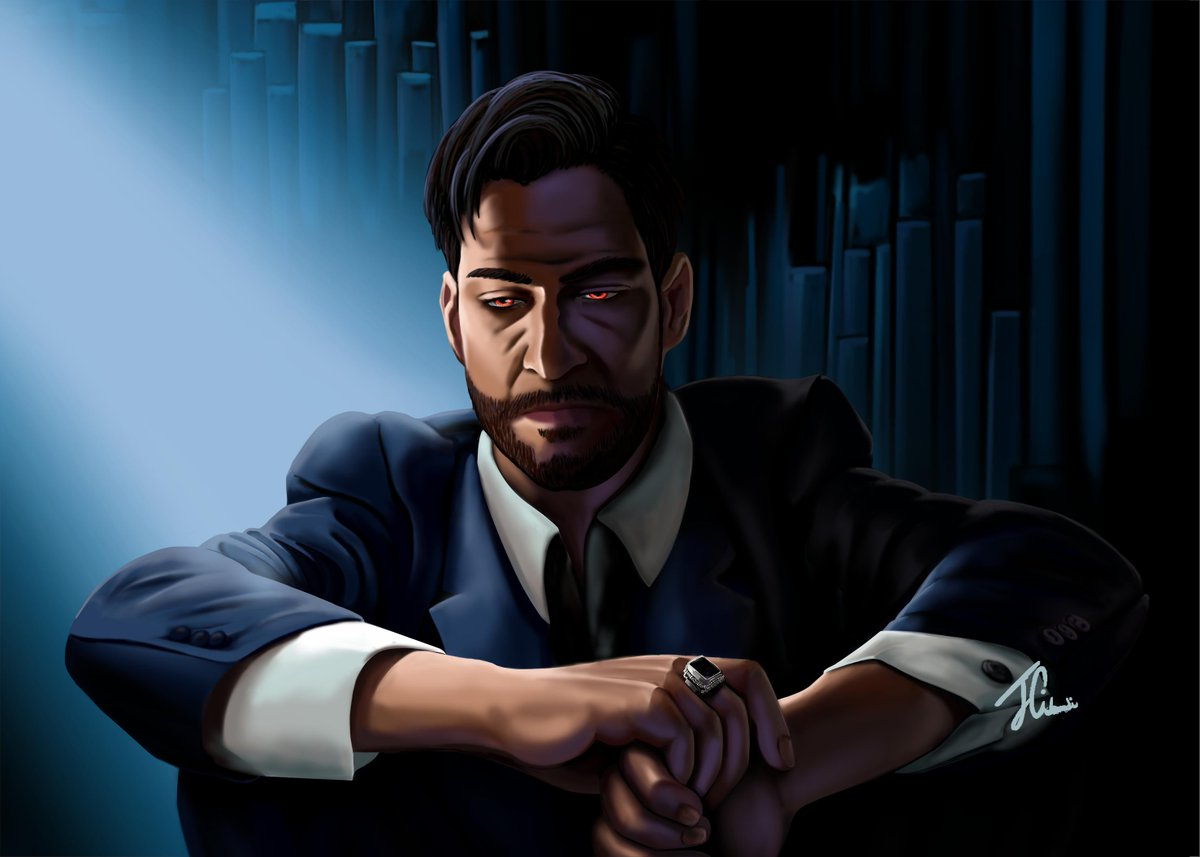 5x01 - Really Sad Devil Guy  Damn, this episode title broke my heart. Be prepared for a hellish next Season, Lucifans!  #Lucifer #LuciferSeason5<br>http://pic.twitter.com/QcQlxqZbLv