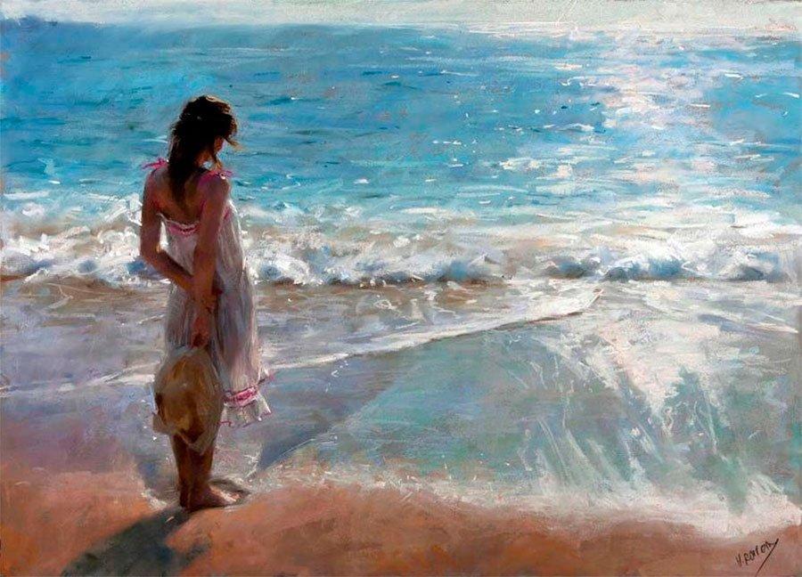художник и море картинки почувствуете, сколько тепла