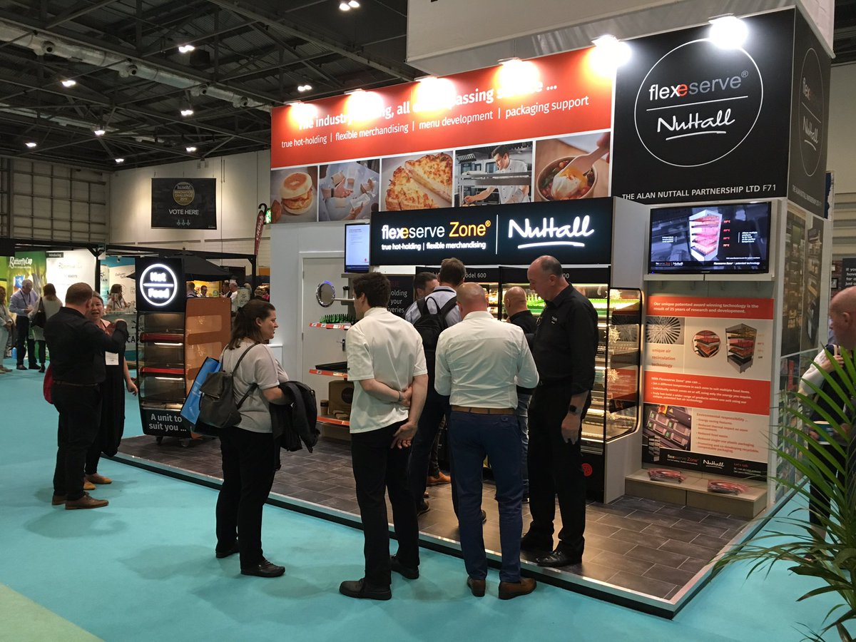 We're ready for a busy second day at Excel, come and find out more about the industry's leading hot holding solution. We're waiting for you on stand F71. #Lunch19 #flexeserve #hotholding #flexible #menudevelopment #packaging #designed #dedicated #ready #service #tradeshow https://t.co/2mGokFO97L