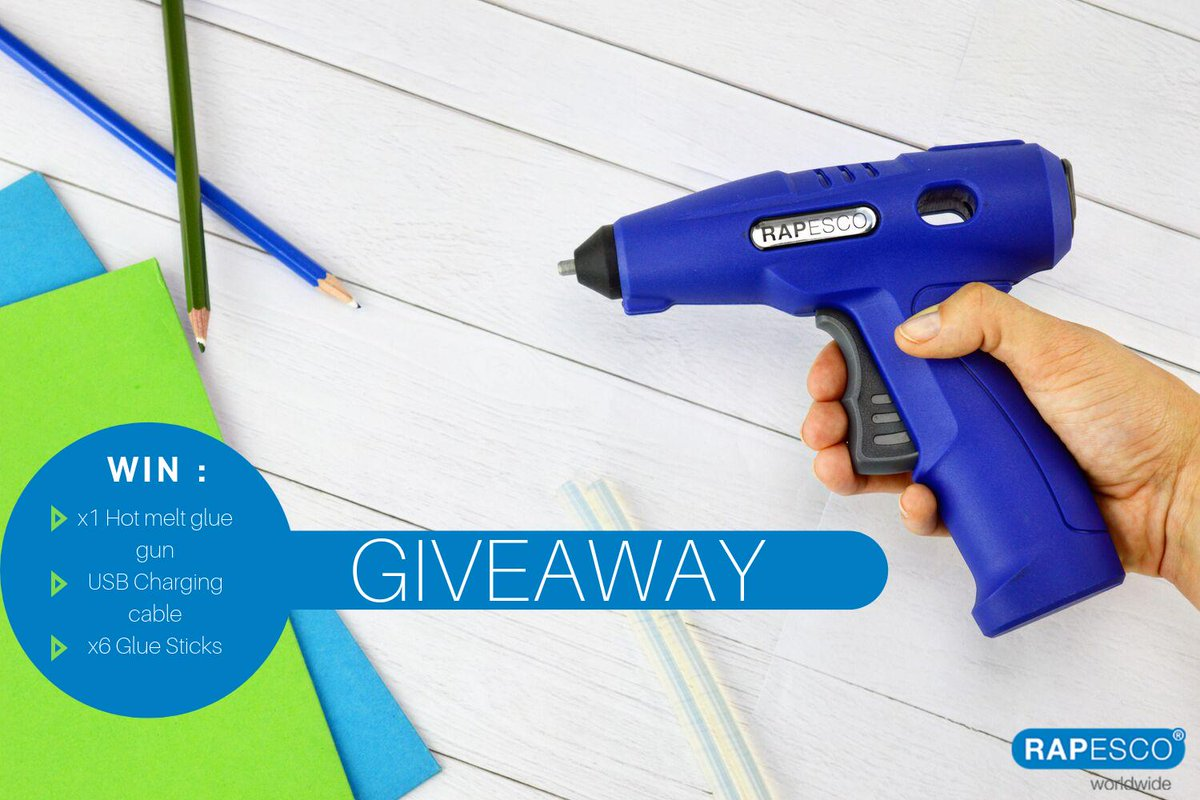 New Product Giveaway! This #FreebieFriday we're giving you the chance to win a brand-new Hot Melt Glue Gun – ideal for arts and crafts or DIY! To enter, simply RT + Like this tweet! #Win #Giveaway<br>http://pic.twitter.com/pWS16F6YiD