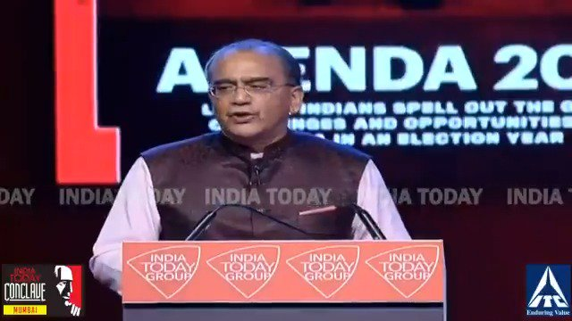 The crisis is the stage for real transformation. After all, as they say, one should never waste a good crisis. That's when people are more willing to accept change: @aroonpurie, Chairman & Editor-In-Chief, India Today Group LIVE - http://bit.ly/MumbaiConclave19…#ConclaveMumbai19