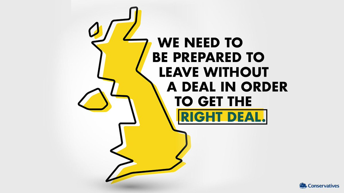🇬🇧 We will leave the EU on October 31st. No ifs, no buts. 👏 Lets get Brexit done 👏