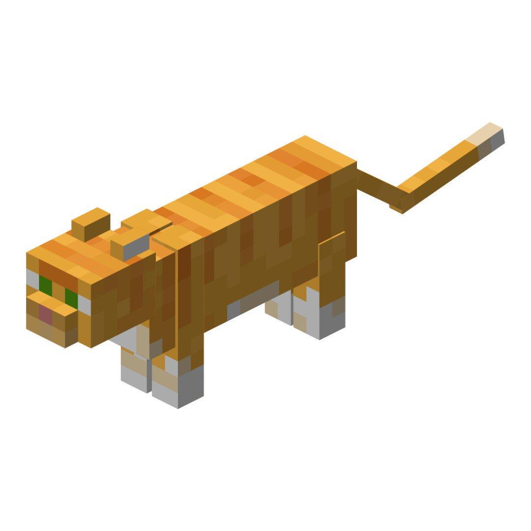 Кошки в майнкрафт