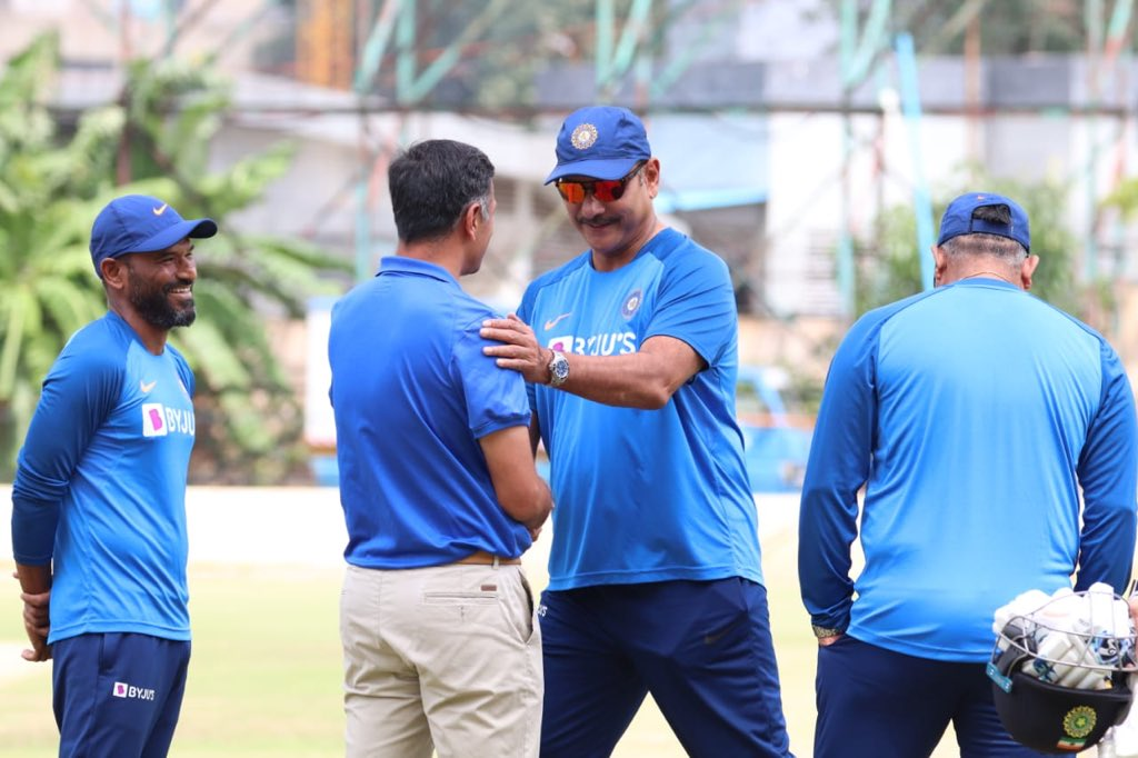 An all India line up in the coaching staff will only pave way for a strong future of Indian coaches and cricketers - with #RahulDravid @coach_rsridhar #BArun #VikramRathour #TeamIndia