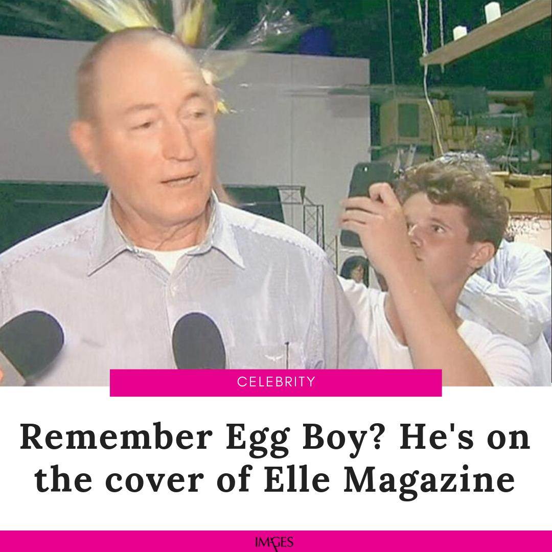 #WillConnolly made headlines when he egged an Australian senator for making Islamophobic remarks. #EggBoy  http://images.dawn.com/news/1183708