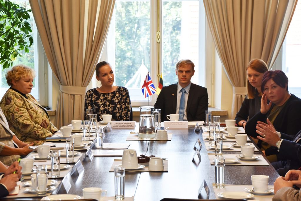 Following the Lithuanian communities campaign back in July, we were invited to Lithuania by the British Embassy @ukinlithuania to meet organisations and NGOs to discuss new effective ways to tackle #HumanTrafficking. Learn more about out our campaign buff.ly/2AvdIUr