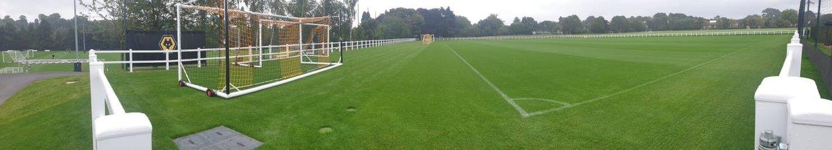 Completed @DuralockUKLtd fencing at Wolverhampton Wanderers FC training ground! #football #durlock #fencing #parkwaygroundmaintenancepic.twitter.com/cx01bi6lKF
