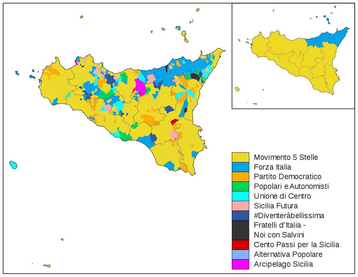 Sicilia Regione Cartina