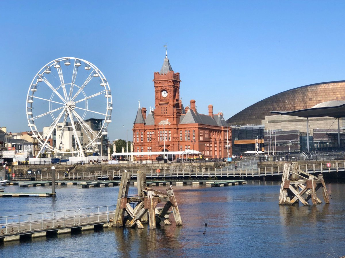 John Spencer-Barnes on Twitter: It's good to be back in #Cardiff on a magnificent sunny day.…
