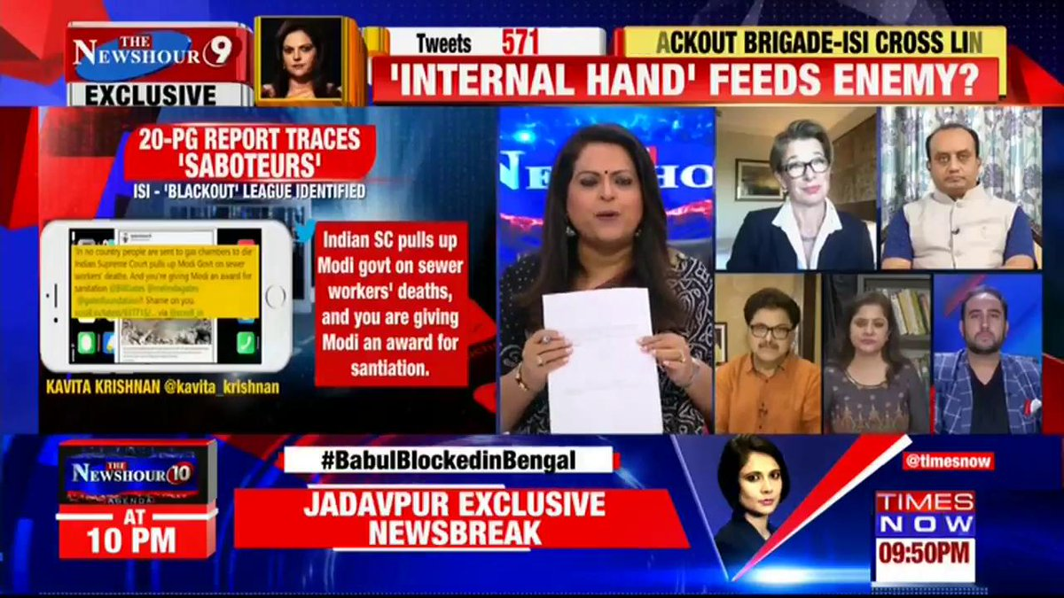 A goalkeeper should be given to grassroot people: @sairashahhalim, Activist tells Navika Kumar on @thenewshour. |  #ModiAwardGateDossier