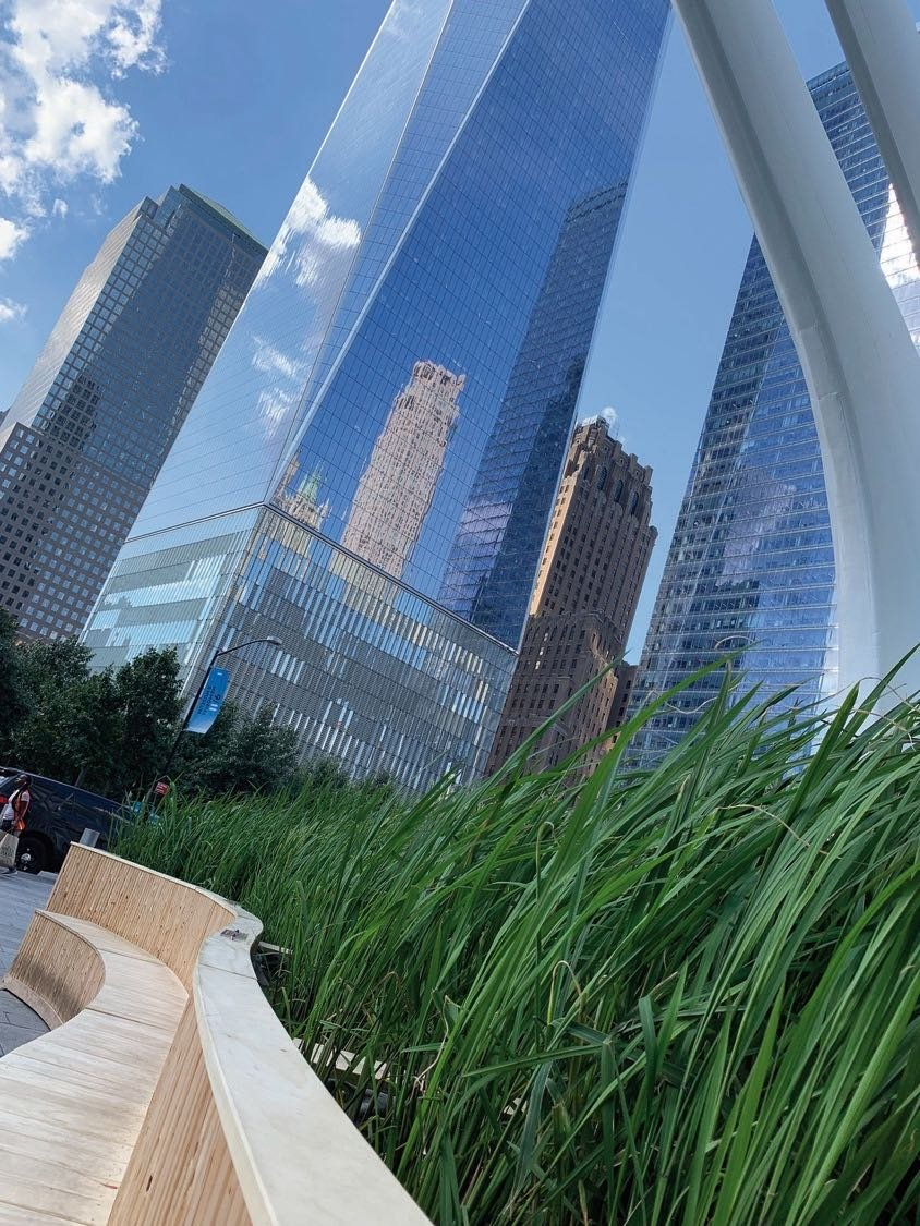 Have you checked out the #LuckyRicePaddyWTC exhibit outside on the Oculus Plaza yet? Next week, chefs will take part in the LuckyRice Grand Feast where they will create dishes that are an homage to the rice that has been growing right here in our backyard.