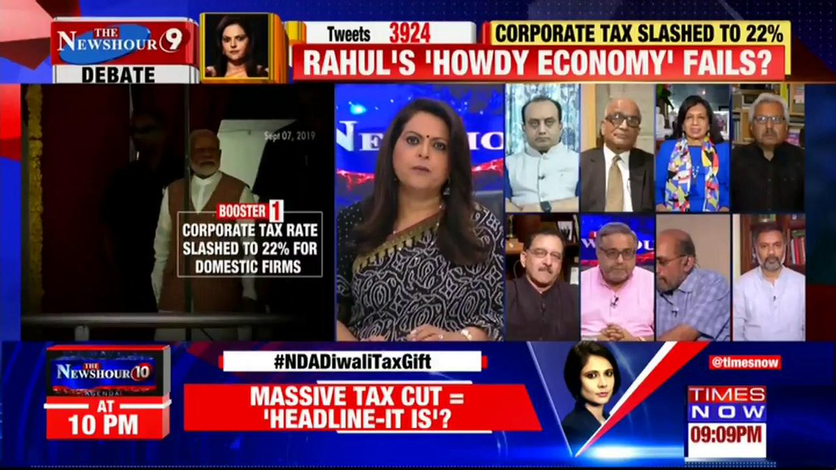 THE STAND POINT | You must not conflate the stock market with the state of Indian economy:@paranjoygt, Senior Journalist tells Navika Kumar on @thenewshour. | #NDADiwaliTaxGift