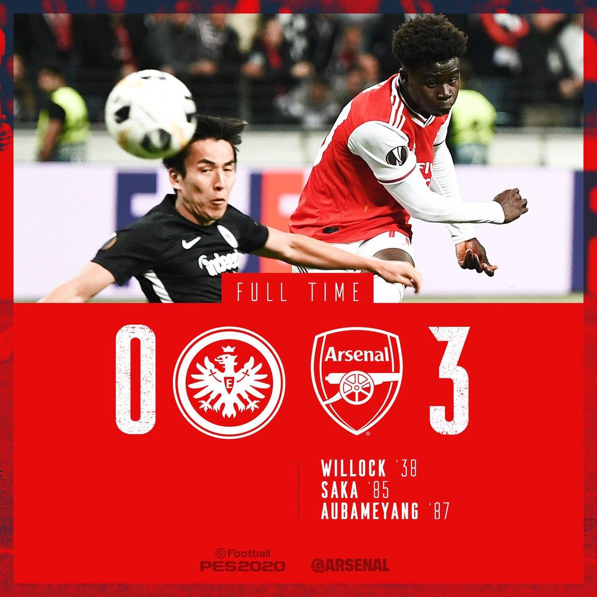 🏆 : الدوري الأوروبي🗒 : الجولة الأولى⚽️ - اينترخت فرانكفورت 0 × 3 ارسنال🎥 : الأهداف📎 - http://v.ht/O0bh🎥 : ملخص المباراة📎 - http://v.ht/Yz6e⬅️ : #ارسنال #Arsenal