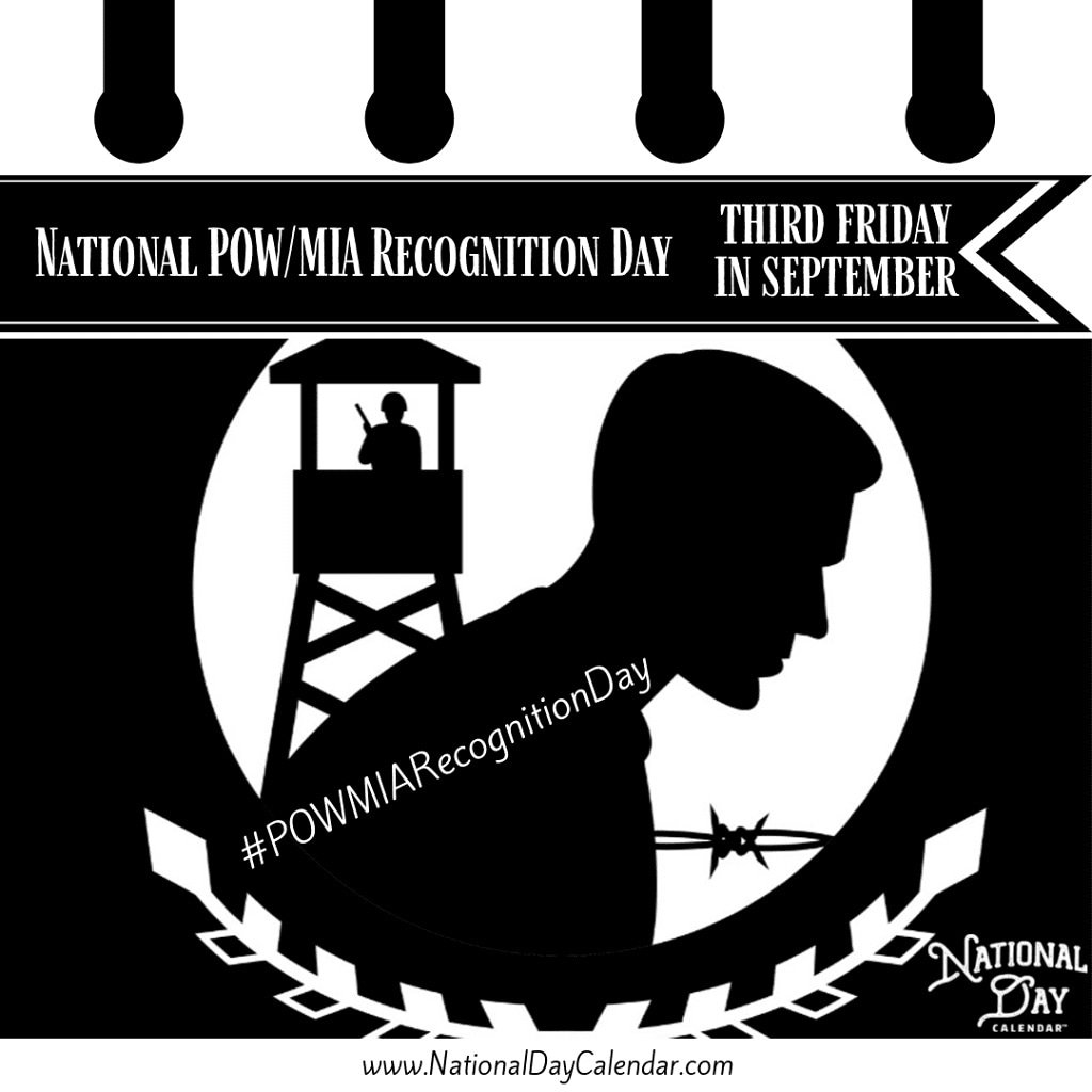 Recognize the men and women who are POW and MIA. Remember them and bring them home. #POWMIARecognitionDay #army #navy #airforce #marines #coastguard #powmia #proudnation #honour #honor #military #valour