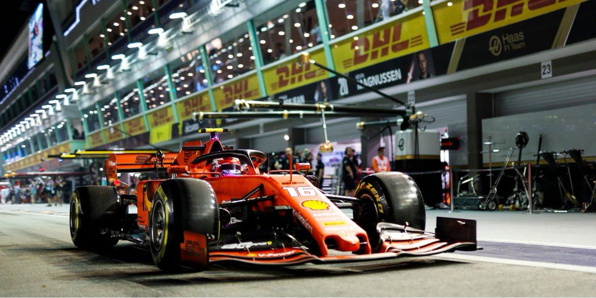 Friday ✅ #F1 #DHLF1 #SingaporeGP