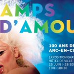 Image for the Tweet beginning: Attention : l'exposition Champs d'Amours