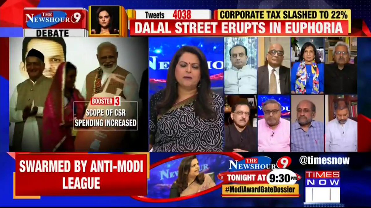 We will take advantage of all these tax measures to invest more and expand faster: @kiranshaw, CMD, Biocon tells Navika Kumar on @thenewshour. | #NDADiwaliTaxGift