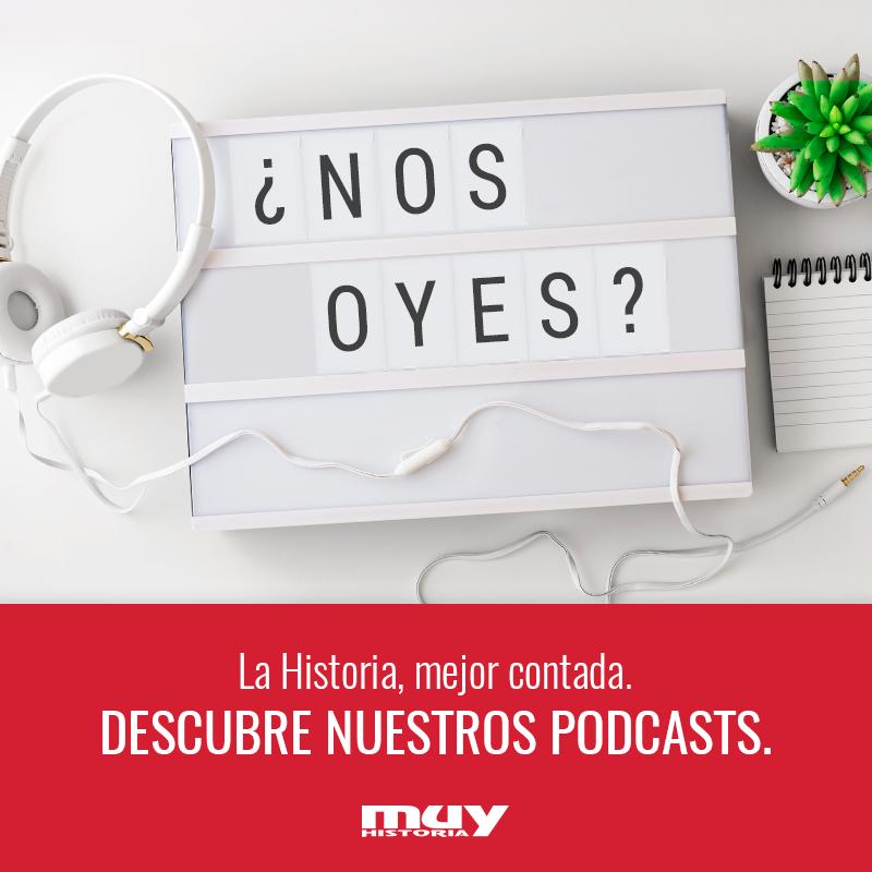 🎙 La Historia la lees, te la cuentan y... ¡también se escucha!Entra en nuestra sección de podcasts donde cada mes encontrarás nuevo contenido disponible para escuchar online o para descargar.📲¡Lleva contigo los podcasts de #MuyHistoria!🤩#MuyPodcast https://bit.ly/2JprYlB