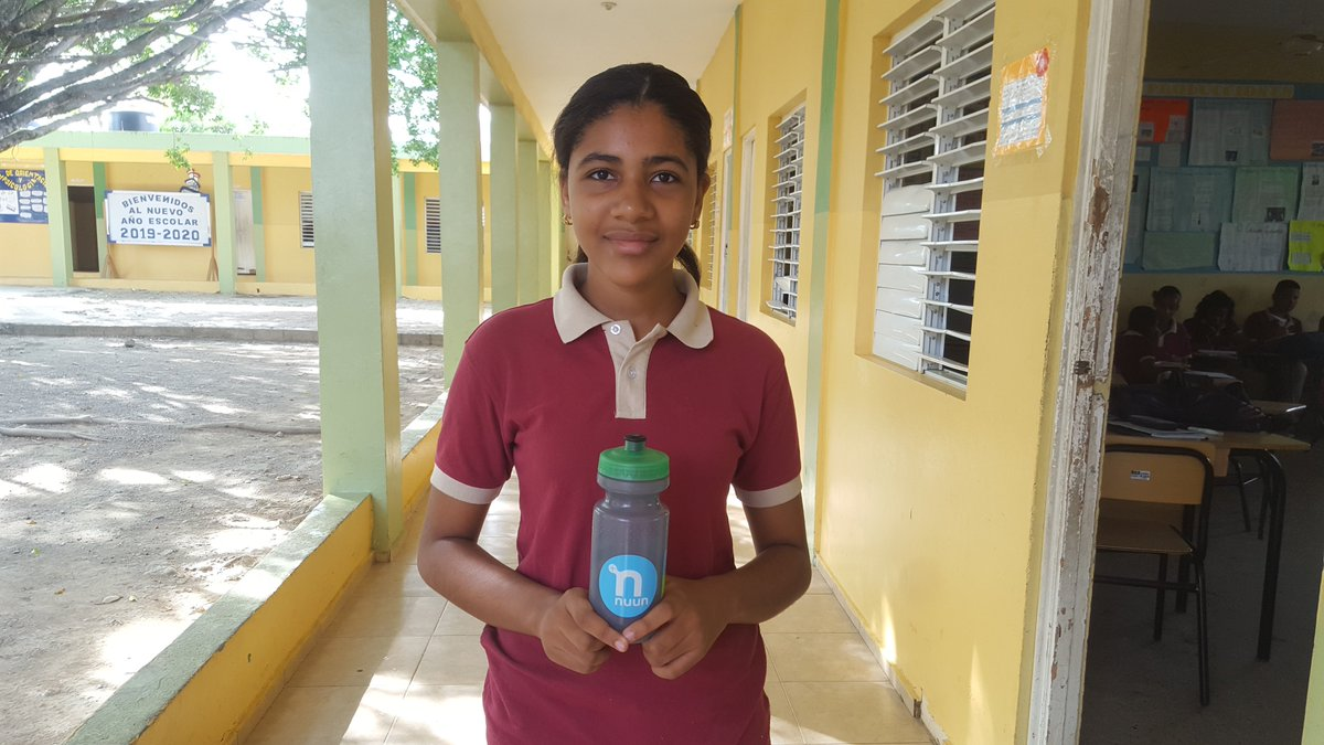 .@nuunhydration Where in the world is Nuun? Reporting from small-town Rep Dom. Spreading the hydration love among my program students. #teamnuun #ItsAboutChildren #poverty #givingback #4charity #NewYorker #pioneering<br>http://pic.twitter.com/IgaEfuySqH