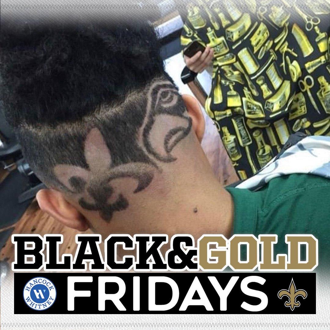 iiiit's #BlackAndGoldFriday! 🙌🖤⚜️ Keep showing your Saints spirit for your chance to be featured! #Saints | @HancockWhitney