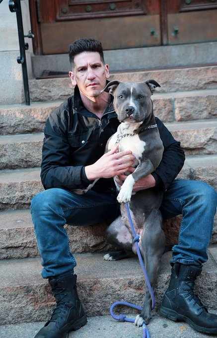 Happy birthday to jon bernthal the only man that can own a dog