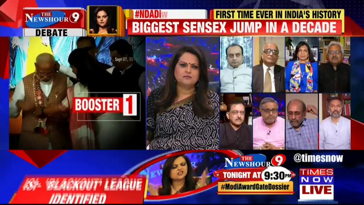 It is too little too late, the entire economy is down to 5%: Tanveer Ahmed, National Spokesperson, JDS tells Navika Kumar on @thenewshour. | #NDADiwaliTaxGift
