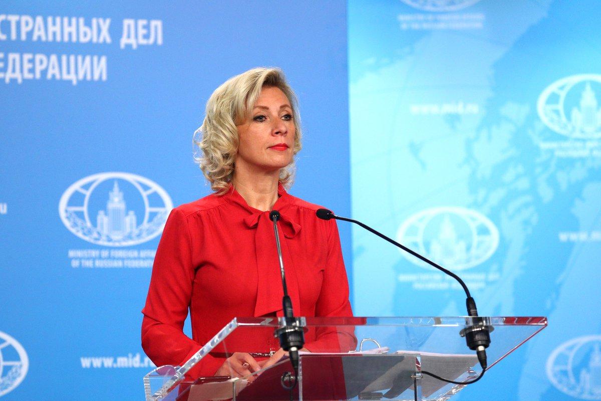 📖 Briefing by Foreign Ministry Spokesperson Maria #Zakharova - Moscow, September 20, 2019🔗https://bit.ly/2kKSqxQ #Russia #UN #UNGA74 #Lavrov #BRICS #CSTO #China #Valdai #Syria #Venezuela #OSCE #Crimea #Estonia #Poland #USSR #Latvia #USA #France #Serbia #Ukraine #Netherlands