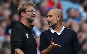 """Pep Guardiola on Liverpool 🗣""""The opponents we have, I've said many times, are the strongest opponents I have faced in my career as a manager""""Is he right? 🤔#LFC #MCFC #PL #ManCity"""