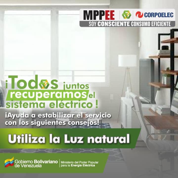 La @CMEMoMaturin se suma a la campaña de ahorro energético impulsada en #Venezuela Utiliza la luz natural @CGRVenezuela @ElvisAmoroso #SoyConscienteConsumoEficiente @CEMonagas01