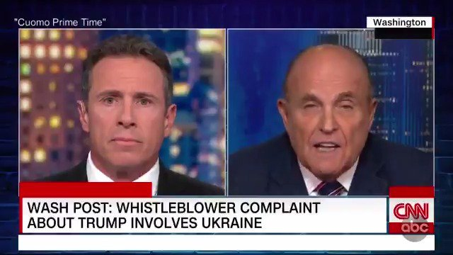 UKRAINE FOCUS OF WHISTLEBLOWER COMPLAINT: Pres. Trump's phone call with a foreign leader that has become the focus of a complaint to the director of national intelligence's inspector general involved Ukraine, sources say — the co-hosts weigh in. abcn.ws/2AArtRw