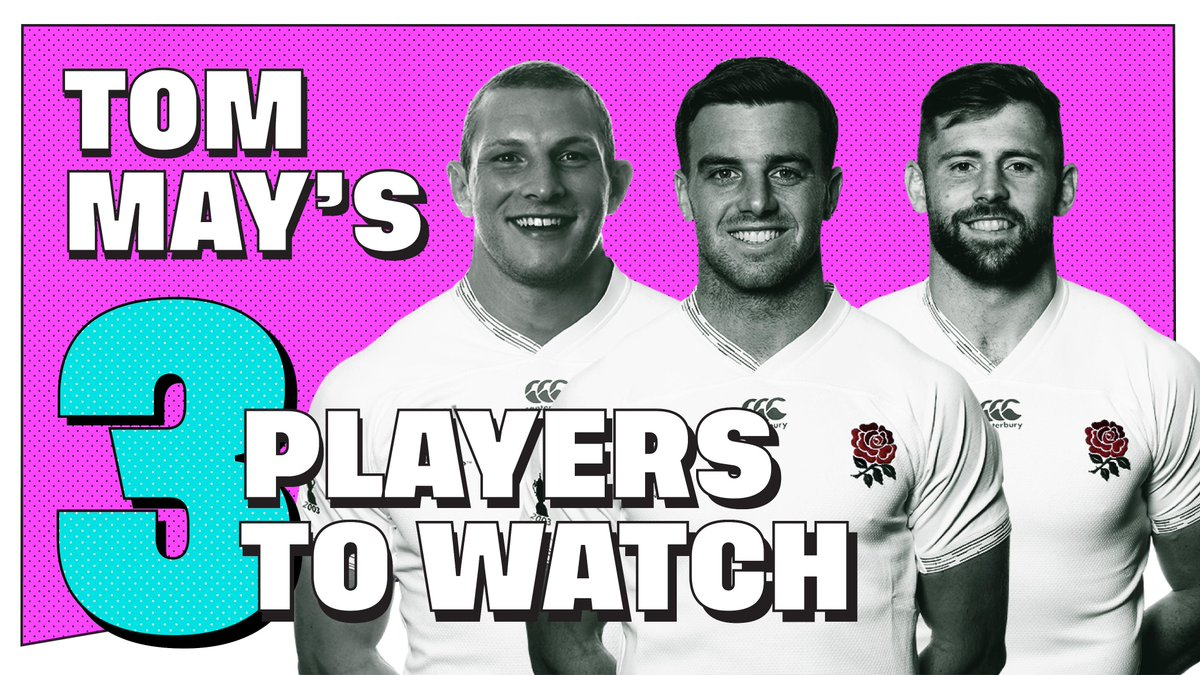 test Twitter Media - #ENGvTGA  @TomMay1 picks out his three players to watch this Sunday against Tonga: https://t.co/1bFbDsewV1 https://t.co/J8mfuU6Yvl