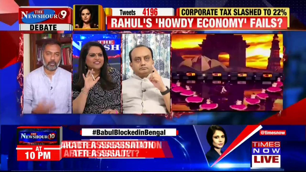 This step is going to be a big boost to our economy, when China's production has gone too low:@SudhanshuTrived, National Spokesperson, BJP tells Navika Kumar on @thenewshour. | #NDADiwaliTaxGift