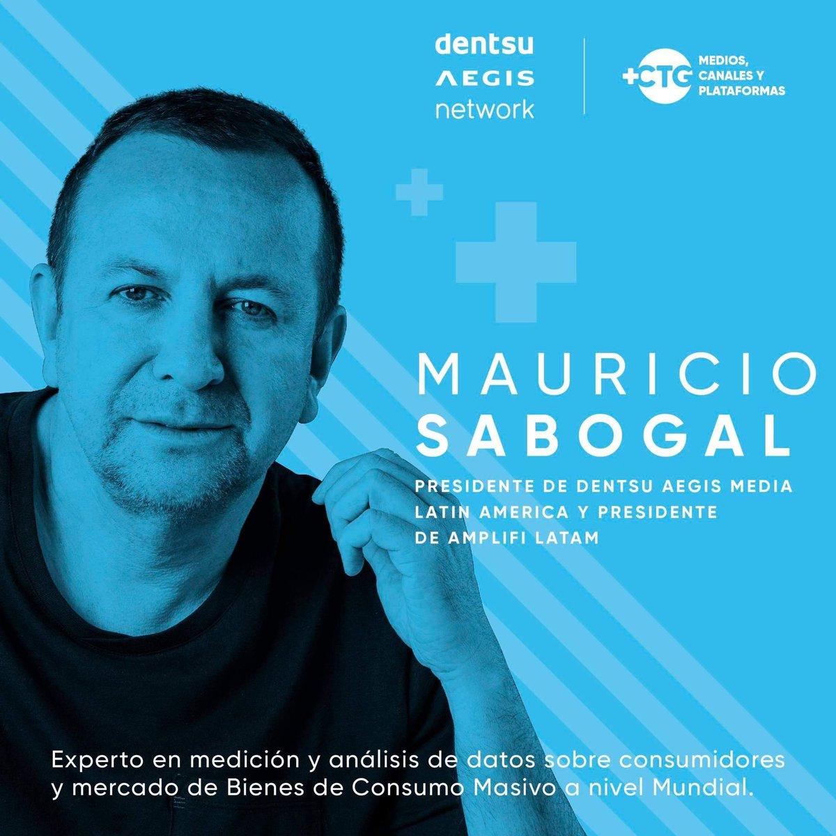 Mauricio Sabogal participará en el panel 'La modernización de las métricas en publicidad: la Data Science es compañera necesaria de la revolución tecnológica'. Asiste a la Cumbre Latinoamericana #MásCartagena. Oct. 2-4 de 2019. http://www.mascartagena.co #summit #cartagena #data