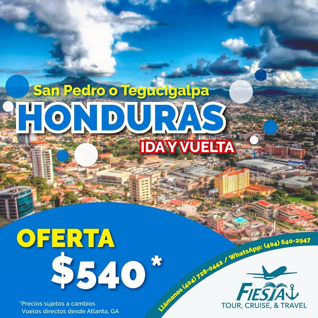 🚨#ULTIMAHORA 🚨 Oferta de boletos aéreos a este destino: #Honduras📱 Whatsapp (404) 640-2974☎ Llámanos al (404) 728-0442#fiestatourtravel #traveldeals #plazafiestamall  #atlantaga #agenciadeviajes  #travelsale #FelizFinDeSemana #TGIF #Traveler #atl