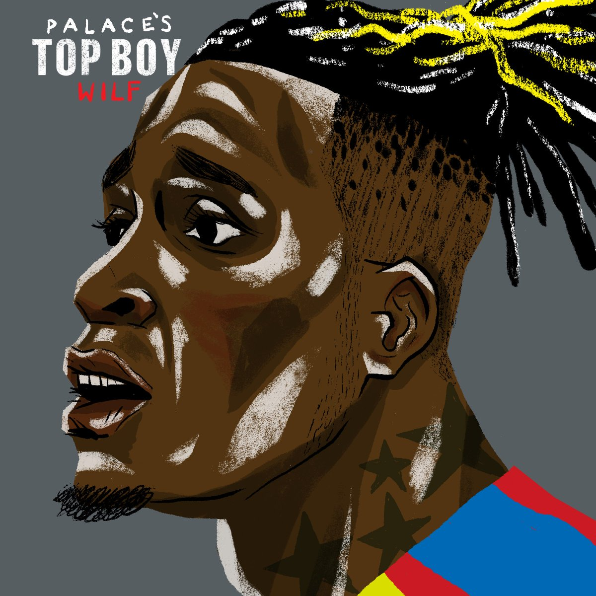 @PremierLeague Top Boy    @WilfriedZaha - @CPFC   53 career goals for @CPFC  @CPFC's top @PremierLeague scorer  Scored twice at #AFCON2019   Highly sought-after talent    The Ivorian prince.  @TopBoyNetflix #ad<br>http://pic.twitter.com/ZHiR1TADYJ