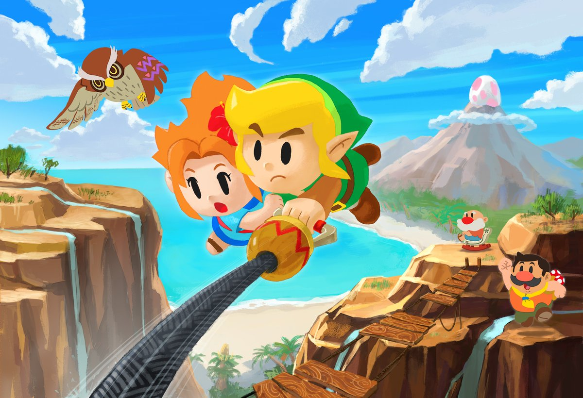 Nintendo Shares Charming Artwork To Celebrate The Release Of