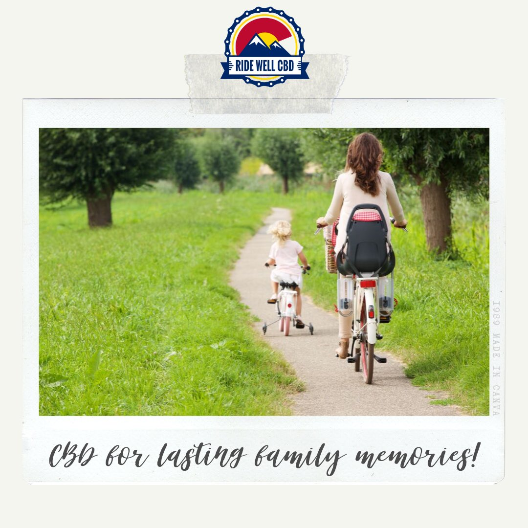 Get the whole family cycling together this weekend! 🚵♀️🌱👌🏼#cycling #cyclinglife #cyclingphotos #cyclingaddict #mountainbiking #mountainbike #mountainbikingtrails #cyclist #cbd #cbdoil #cbdforathletes #cbdhealth #cbdheals #cbdisolate #cbdcream #cbdmovement #cbdlife #ridewellcbd