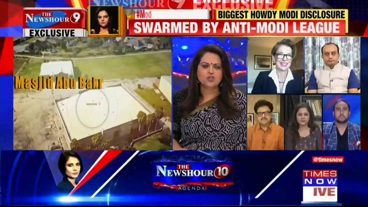 There is so much positivity & excitement for the 'Howdy Modi' event: @KTHopkins, Media Personality tells Navika Kumar on @thenewshour. |  #ModiAwardGateDossier