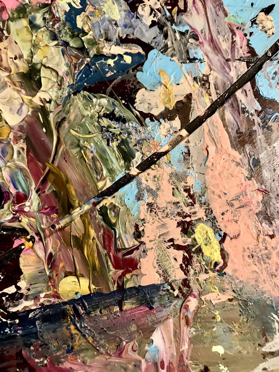 """Doubting Mind"" Mind Series # 3 Acrylic, 24 x 30 "" #contemporaryart #modernart #abstractexpressionism #painting #artgallery #newyorkart #artecontemporáneo #arte #abstractart #art #artist #artistsoninstagram #fineartstudioufa"