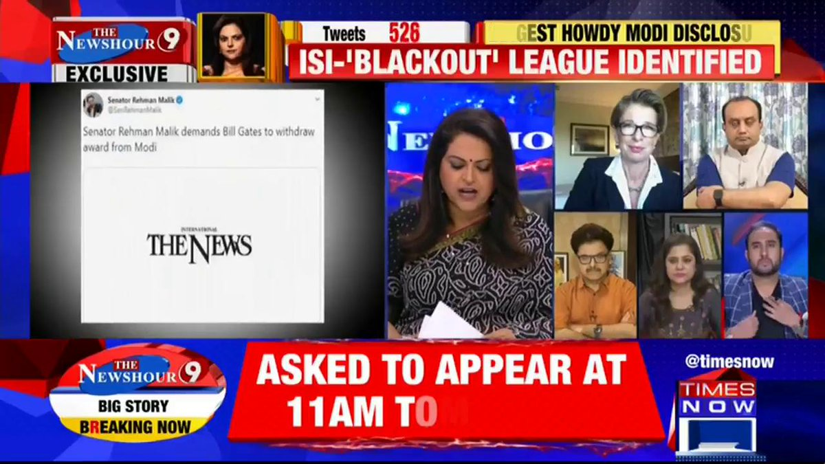 Listen in: @MCABBAS, Political Analyst puts forth his view on the current state of the country on @thenewshour with Navika Kumar. |  #ModiAwardGateDossier
