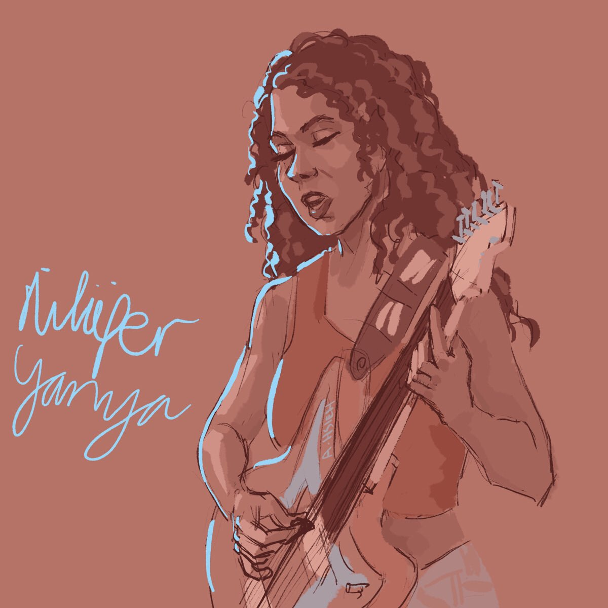 .@niluferyanya at #TinyDesk! #tinydesksketch https://n.pr/301oFMu